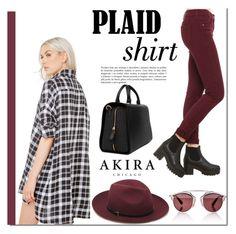"""""""Akira"""" by mada-malureanu ❤ liked on Polyvore featuring Akira, Nila Anthony, Christian Dior, Mulberry and shopakira"""