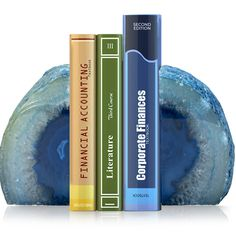 Geode Bookends (Set of 2 Agate Bookends) Modern Bookends, Geode Bookends, Geode Decor, Agate Stone, Paper Weights, Red Bull, Favorite Color, Crystals, Colors