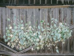 Eucalyptus Chandelier. DIY Party Decor Ideas for a Summer Gathering — Apartment Therapy's Guide to the Perfect Summer
