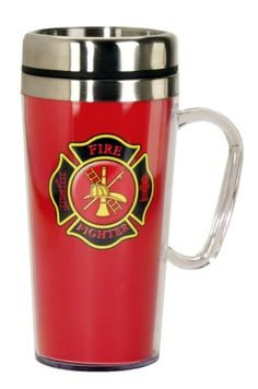 Firefighter Insulated Travel Mug | Shared by LION