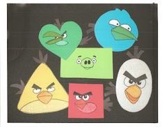 Teaching Shapes With Angry Birds