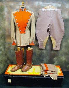 British Imperial Yeomanry Officer Uniform Set: Victorian Era Lancer (one only)