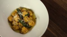"""A delicious sage butter sauce recipe from Gerri Sarnataro, instructor of the Craftsy class """"How to Make Gnocchi Like a Pro."""""""