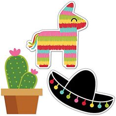 Let's Fiesta - Shaped Party Paper Cut-Outs | BigDotOfHappiness.com
