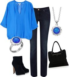 """Aqua Fizz"" by jewelpop on Polyvore"