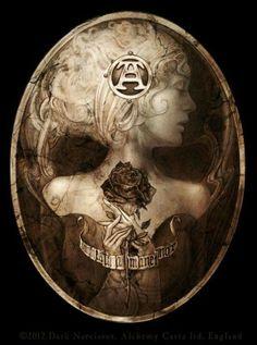 Dark Narcissus ~ Alchemy Gothic
