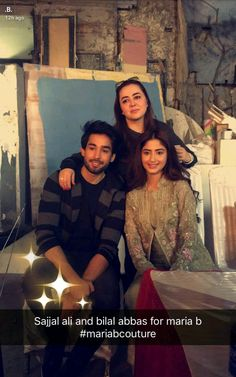 Pakistani Dramas, Pakistani Actress, Full House Cast, Bilal Abbas Khan, Sajjal Ali, Celebs, Celebrities, Beautiful Couple, Couple Goals