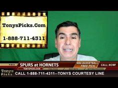 San Antonio Spurs vs. Charlotte Hornets Pick Prediction NBA Pro Basketba...