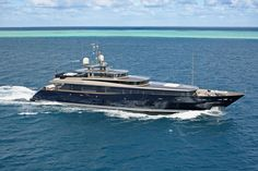 Superyacht Loretta Anne. 47 metres (154 ft). Click on image for more info and photos.
