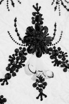ErdemClaude embellished matelassé cotton top