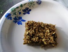 breakfast bars- healthy and simple made with rolled oats