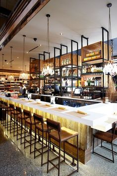 What You Should Know About Bar Counter? Commercial Long Bar Counters For Restaurant/cafe Shop - Buy Bar Design Café, Bar Interior Design, Restaurant Interior Design, Cafe Design, Rustic Design, Rustic Style, Exterior Design, Bar Lounge, Cafe Bar