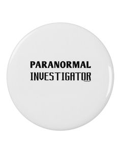 "TooLoud Paranormal Investigator 2.25"" Round Pin Button"