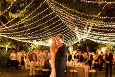 65 Breathtaking String Bistro Lighting Wedding Ideas You Must See