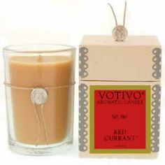Votivo Red Currant Candle
