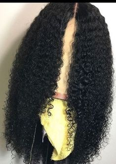 Beautiful long curly wigs for black women lace front wigs human hair wigs african american wigs Curly Hair With Bangs, Short Curly Hair, Curly Hair Styles, Natural Hair Styles, Curly Bob, Big Hair, Easy Formal Hairstyles, New Short Hairstyles, Wig Hairstyles