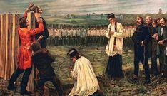 1849 - Az aradi vértanúk tragédiája » Múlt-kor történelmi magazin » Történelmi Magazin Painting, Painting Art, Paintings, Painted Canvas, Drawings