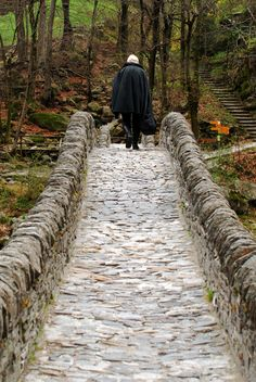 Elderly walking over the bridge. Switzerland (Taken by: Marike Herzberg) Over The Bridge, Life Goes On, Pathways, Cool Places To Visit, Switzerland, Bliss, Competition, The Outsiders, To Go