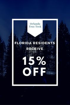 15% off for Florida residents. Discount applied at Park when presenting valid Florida ID.