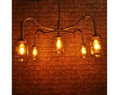 THE COOPER Chandelier New Industrial Vintage by LightingsalesShop