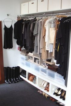 A great closet idea
