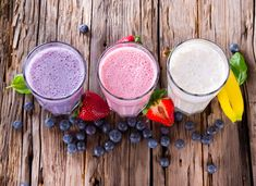 Fresh Fruit Facial Smoothies |  Face Mask Recipes You Can Eat by Homemade Recipes at http://homemaderecipes.com/healthy/11-homemade-face-mask-recipes/