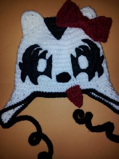 d367f8de49 Hello KISS Kitty by WooleySnuggins on Etsy