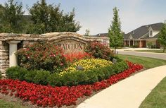neighborhood entrance landscaping photos   ... Landscape Architecture, Lexington KY   Projects - Community Amenities