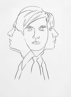 Andy Warhol (American, 1928-1987)  Self-Portrait, 1986  graphite on HMP paper  31 1/4 x 23 3/4 in. (79.4 x 60.3 cm.)