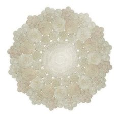 the first top down picture of a circular sisal rug I've seen