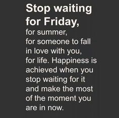 LIVE IN THE NOW!!!