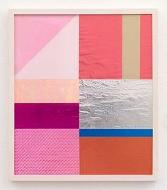 Ryoko Aoki. Left, Pink and Orange, 2009. Right, Object Reading 3, 2015. Courtesy Take Ninagawa.