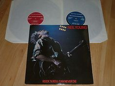 NEIL YOUNG - Rock N Roll Can Never Die - DOUBLE VINYL LP - RUST RECORDS RR 3582