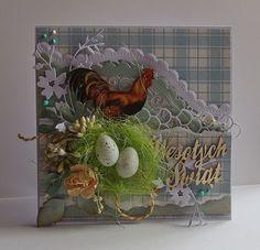 Wielkanocna kartka Izy
