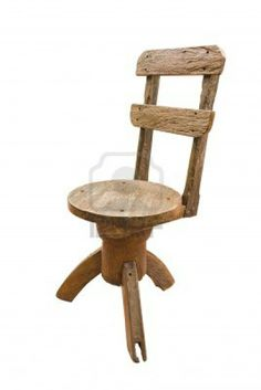 Old Wooden Chairs, Stool, Old Things, Furniture, Image, Home Decor, Chairs, Decoration Home, Room Decor