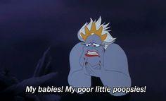 """Babies! My poor little poopsies!"" credit: animated-disney-gifs.tumblr.com #animatedgif"