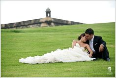 PHOTO OF THE DAY: Old San Juan, the perfect backdrop for your romantic wedding. #destinationweddings #OldSanJuanWeddings #WeddingsinPuertoRico #PuertoRicoweddingphotographers
