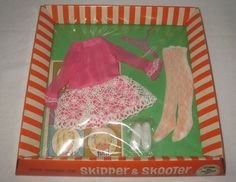 1960's Vintage Mattel Skipper Outfit #1949 All Prettied Up MIB NRFB  MG46 #ClothingShoes