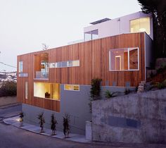 Narrow Home Designs - slim, tall and eco-friendly in San Francisco