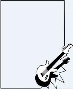 Guitar PowerPoint Background PowerPoint Background