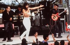 "Although Lopez had to sing and dance in the audition, the film used Selena's actual singing voice for all the songs. | 22 Facts You Didn't Know About The Movie ""Selena"""