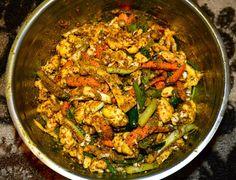 Nepali Tummy!!: Kadheko Tarkariharu ko Achar (Mixed Vegetables Pickle) Recipe!!