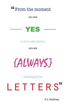 Repping Chi Omega. I don't like this weird font thing, but I love this saying