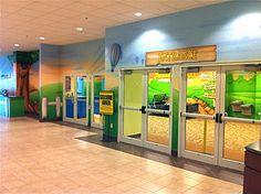 Worlds of Wow - Kid friendly children's church entrance at Calvary Baptist Church in Clearwater, FL.  #kidmin #children #kids #ministry #theming