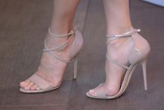 Sandra Bullock's Brian Atwood Tamara sandals.