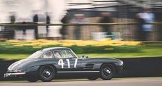 The Flying Scottsman. David Coulthard on a parade lap in the Mercedes Benz #300 SL #Gullwing at Goodwood Road & Racing United Kingdom (Westhampnett). Pic ©Rob Cooper (rwc_photo/instagram) David Coulthard, Mercedes Benz 300, Road Racing, United Kingdom, Cars, Classic, Pictures, Instagram, Exotic Cars