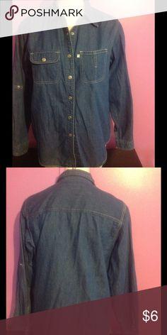 Gloria Venderbuilt Shirt Button Up Shirt Gloria Vanderbilt Tops Button Down Shirts