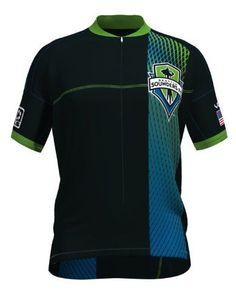 MLS Seattle Sounders Women's Primary Short Sleeve Vomax Jersey, Medium #performancebikecycling