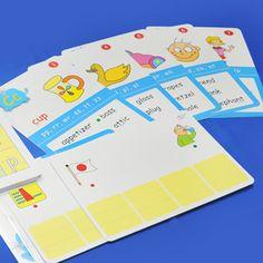 麻辣字母拼讀卡(大卡)Bingo Game 遊戲 [來源:Catherine 老師的部落格] http://catherinehuang.pixnet.net/blog/post/159824738