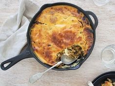 South African Curried Lamb Bobotie